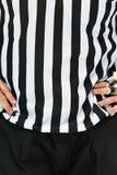 Scheidsrechter in Zwart-wit Royalty-vrije Stock Fotografie