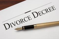 Scheidung Lizenzfreies Stockbild