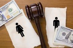 Scheidungsabschnitt Lizenzfreies Stockbild