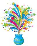Schein brechen vom Vase aus Lizenzfreie Stockfotos