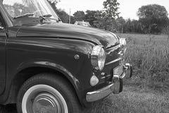Scheinwerfer auf einem alten Auto Lizenzfreies Stockbild