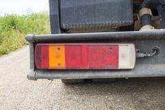 Scheinwerfer auf einem LKW Lizenzfreie Stockbilder