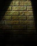 Scheinwerfer auf Wand lizenzfreie abbildung