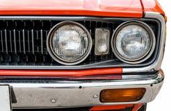 Scheinwerfer des alten Autos Lizenzfreie Stockfotos
