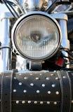 Scheinwerfer des Fahrrades Lizenzfreie Stockbilder