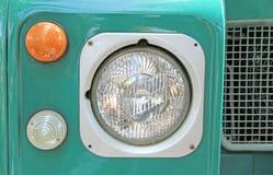 Scheinwerfer des Weinlese-Autos Lizenzfreies Stockbild