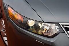 Scheinwerfer eines Autos Stockfotografie