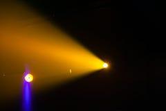 Scheinwerfer, Lichter auf Stadium Stockbilder