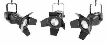 Scheinwerfer- oder Stufeleuchte Stockbild