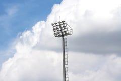Scheinwerfer-Turm Lizenzfreie Stockfotos