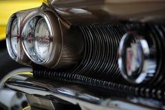 Scheinwerfer von Buick-electra 225 des alten Hasen Lizenzfreies Stockfoto