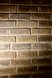 Scheinwerferlicht auf Backsteinmauer Lizenzfreie Stockbilder