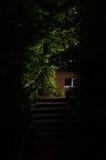 Scheinwerferlicht auf der Treppe Lizenzfreie Stockbilder