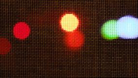 Scheinwerferlicht mit vielen clolor Lizenzfreie Stockfotos