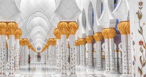 Schejk Zayed Mosque Arkivfoton