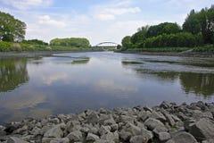 Schelde-Fluss Stockfoto