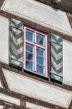 Schelztor porttorn i Esslingen f.m. Neckar, Tyskland Royaltyfria Foton