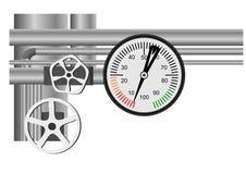 Schema del gas naturale Fotografia Stock