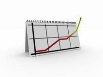 schema della tabella 3d Immagine Stock