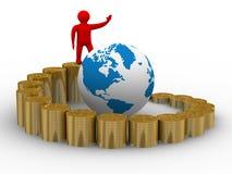 Schema di sviluppo. Illustrazione isolata Fotografia Stock Libera da Diritti