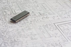 Schematics Stock Photography