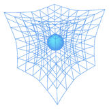 Scheme of physics, chemistry and sacred geometry. Stock Photo