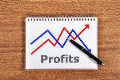 Scheme profits Stock Images