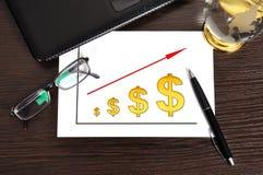 Scheme profits dollar Stock Image