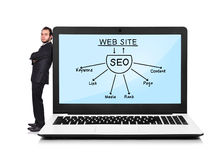 Scheme seo Royalty Free Stock Image