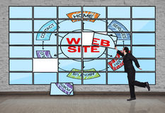 Scheme website Stock Image