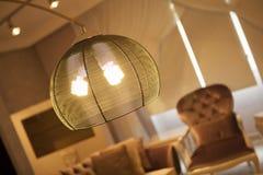 Schemerige lichte verlichting Royalty-vrije Stock Foto's