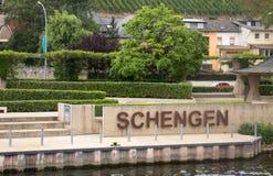 Schengen Lizenzfreie Stockfotografie