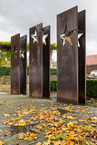 SCHENGEN, LUSSEMBURGO - NOVMEBER 6, 2015: Accordo di Schengen del monumento Immagine Stock