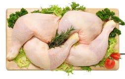 Schenkel des Huhns Stockfotos