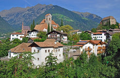 Schenna,south tyrol Stock Photos