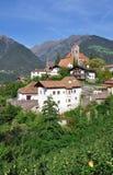 Schenna, Tirolo del sud, Trentino, Italia Immagine Stock