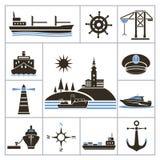 schepen Royalty-vrije Stock Foto's