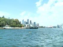 Schepen in Darling Harbour Sydney stock footage