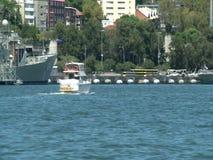 Schepen in Darling Harbour Sydney stock video