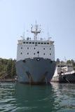 Schepen van de vloot van de Zwarte Zee stock fotografie