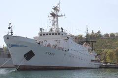 Schepen van de vloot van de Zwarte Zee royalty-vrije stock foto