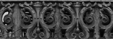Schepselen op het balkon stock fotografie