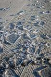 Scherben des zertrümmerten Eises Lizenzfreie Stockbilder