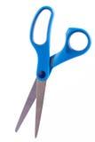 Scheren mit blauem Griff Stockbild