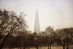 Scherf, Londen Stock Afbeelding