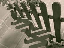 Schermende Stappen Stock Fotografie