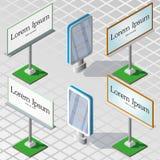 Schermi del tabellone per le affissioni Immagini Stock