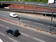 Schermo 2 della strada di Londra Immagine Stock Libera da Diritti
