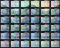 schermo Fotografia Stock