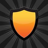 Schermo arancione Fotografia Stock